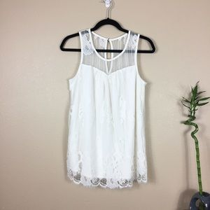 Maurices tank top lace